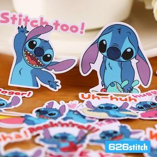 (22枚一套)史迪奇line貼紙包 - 另售熊大兔兔 蠟筆小新 小熊維尼 小丸子 熊本熊 哆啦a夢 拉拉熊