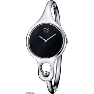 【大叔歐美代購】 Calvin Klein CK Air 凱文克萊雅典手環錶- 黑 K1N23102美國代購