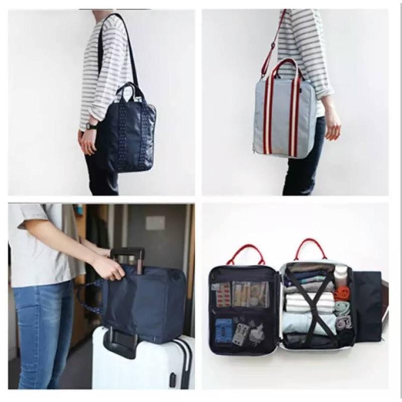 拉桿行李袋  ! 拉桿登機行李袋 拉桿包 登機包 旅行登機包 行李袋 行李箱 三用旅行袋