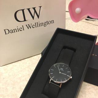 DW Classic Petite 金屬黑色錶帶