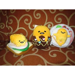 ///可愛娃娃///~6吋正版早餐培根蛋黃哥~吐司蛋黃哥~彩繪蛋黃哥絨毛娃娃吊飾~6吋蛋黃哥---約16公分
