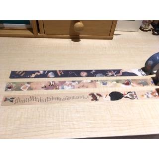 【熊熊】Zoel 愛麗絲夢遊仙境 紙膠帶 分裝 100cm