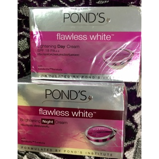 Ponds flawless white day cream night cream