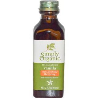 美國代購 Simply Organic馬達加斯加農場種植 無酒精 天然有機 烘焙用 香草精 香草莢 無麩質 美國有機認證