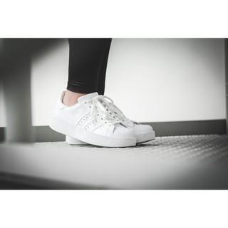 胖達)Adidas Superstar Bold W  厚底 增高 休閒鞋 BA7668 女鞋 全白 復古