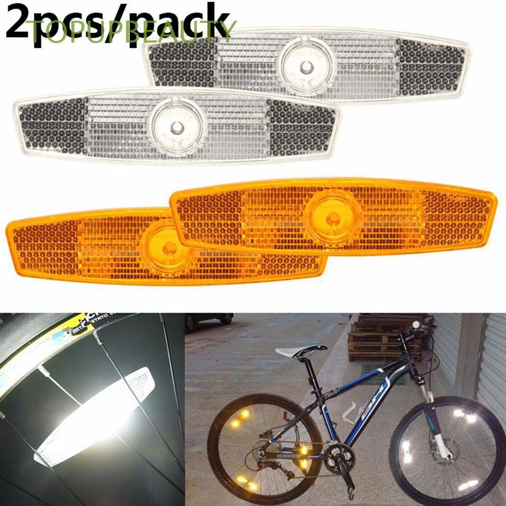 2件新安裝夾山地自行車自行車自行車配件自行車輻條反光鏡