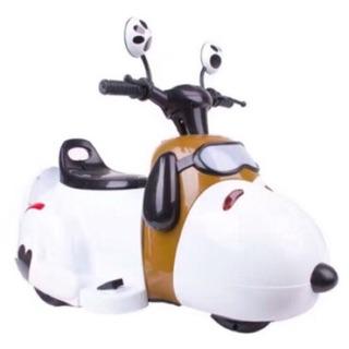 Snoopy 史努比 史奴比 摩托車 電動車 玩具車