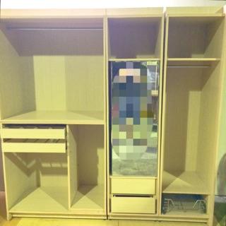 打造完美女神7尺衣櫃 雙人衣櫃 二手衣櫃 二手衣櫥 收納衣櫃 木衣櫃 大型衣櫃