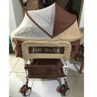 ok baby 三合一初生嬰兒搖籃床
