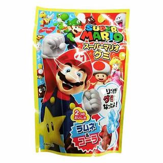 日本零食 任天堂 SUPER MARIO 馬力歐QQ軟糖