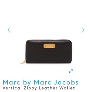 Marc  by Marc jacobs 拉鍊長夾