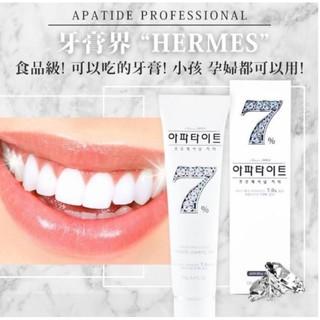 牙膏界的愛瑪士   韓國晶鑽7牙膏