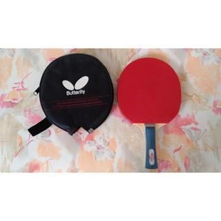 butterfly 桌球拍 負手拍 附球拍袋