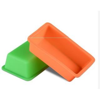 迷你 小號 長方形 矽膠模具 吐司模 土司盒麵包模具 烘焙模 肥皂模