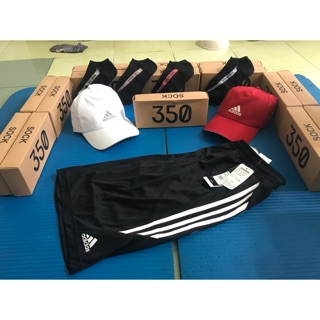 Adidas 三線短褲球褲 褲350