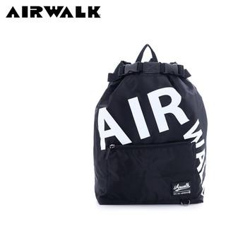 【紅心包包館】AIRWALK 帥性美式束口後背包 A635321420 黑色