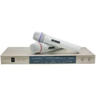 【幸福】VHF靜音鎖碼雙無線麥克風CRW-999A