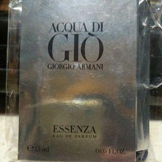 GIORGIO ARMANI ESSENZA 男性噴式淡香精 1.5ML