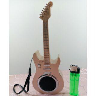 藍芽吉他造型音箱喇叭USB