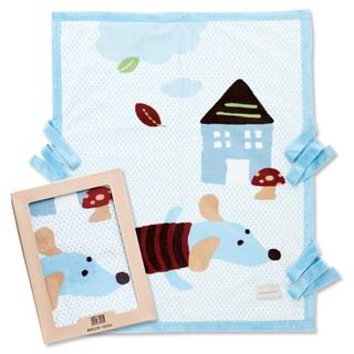 【奇哥】嬰兒帽帶毯禮盒(80x100cm)