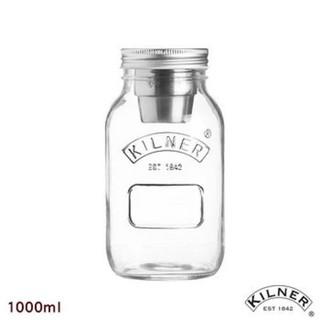 【KILNER】密封沙拉罐1L(內含醬料杯)