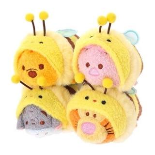 (現貨)日本迪士尼商店 小熊維尼 小豬 跳跳虎 維尼家族 tsumtsum 疊疊樂 螢幕擦 小玩偶