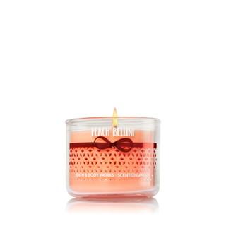 Bath and Body Works 精油香氛蠟燭 威尼斯 繽紛系列 白桃貝里尼