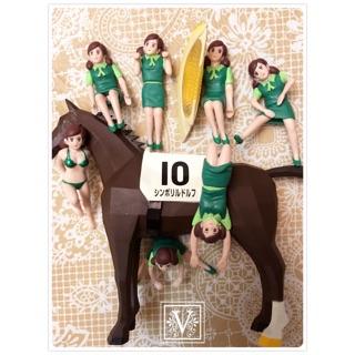V|T ☆ JRA 日本中央賽馬會 限定 賽馬 競馬 杯緣子 杯緣 轉蛋 扭蛋 7緣子7隻馬 ☆