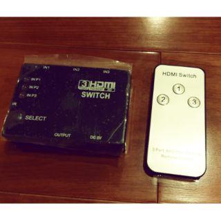 hdmi switch 3port