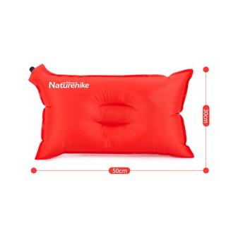 小陳戶外-NH 自動充氣枕頭 加寬型氣枕 旅行枕 NatureHike
