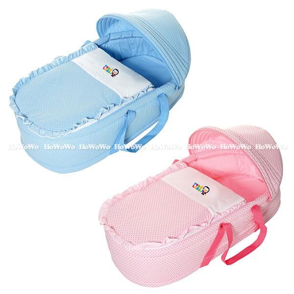 【今日免運再折100】輕便型兒童床 | 藍色企鵝 PUKU 印花睡箱 提藍 嬰兒床 30902 好娃娃