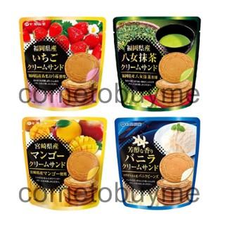 日本七尾製菓 蘿蔓餅乾 夾心法蘭酥 福岡草莓 八女抹茶 宮崎芒果 芳醇香草奶油