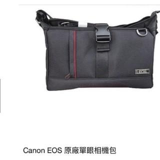 CanoN 單眼相機包 EOS 原廠相機包 黑色 攝影背包 攝影配件 防潮包 1機2鏡 尼龍包