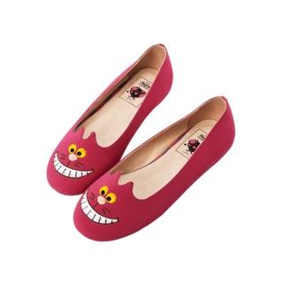 Disney Alice 愛麗絲 妙妙貓 娃娃鞋 平底鞋 懶人鞋 百貨專櫃