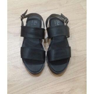 一字雙帶簡約涼鞋