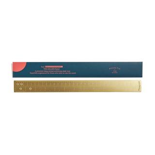 【珍品】Tom Dixon|Golden Rule 黃銅文具系列 黃金比例 長尺 設計品牌(外包裝有設計師簽名)
