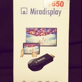 Miradisplay  無線鏡像投影器 手機投影 蘋果安卓皆可使