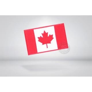 RST 紅星 - 加拿大國旗 電繡 魔鬼氈臂章 徽章 識別章 國旗章 ... 13011-091