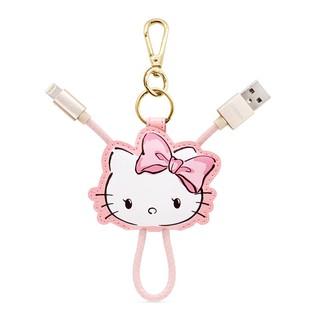 GARMMA Hello Kitty Apple Lightning 皮革吊飾傳輸線 充電線 蘋果認證 鑰匙圈吊飾