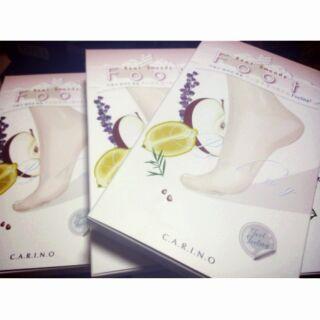 韓國Carino麗仁堂地漿水 植物果美腳保濕滑嫩去角足膜 男女可用