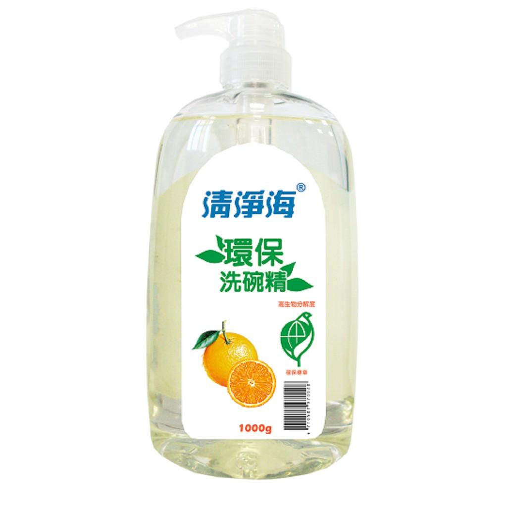 《清淨海》環保洗碗精(檸檬飄香)1000ml/瓶