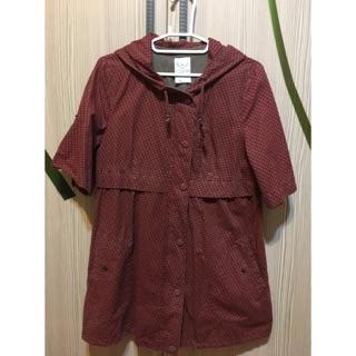 香港專櫃購入 韓劇同款 風衣 外套 防風 罩衫