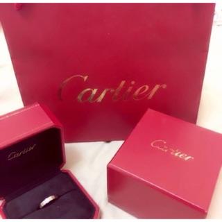 正品 Cartier卡地亞經典Love戒指 誠可議價