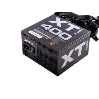 【鳥鵬電腦】XFX 訊景 XT 400 400W 電源供應器 80PLUS 銅牌 日系電容 XT400 XT-400