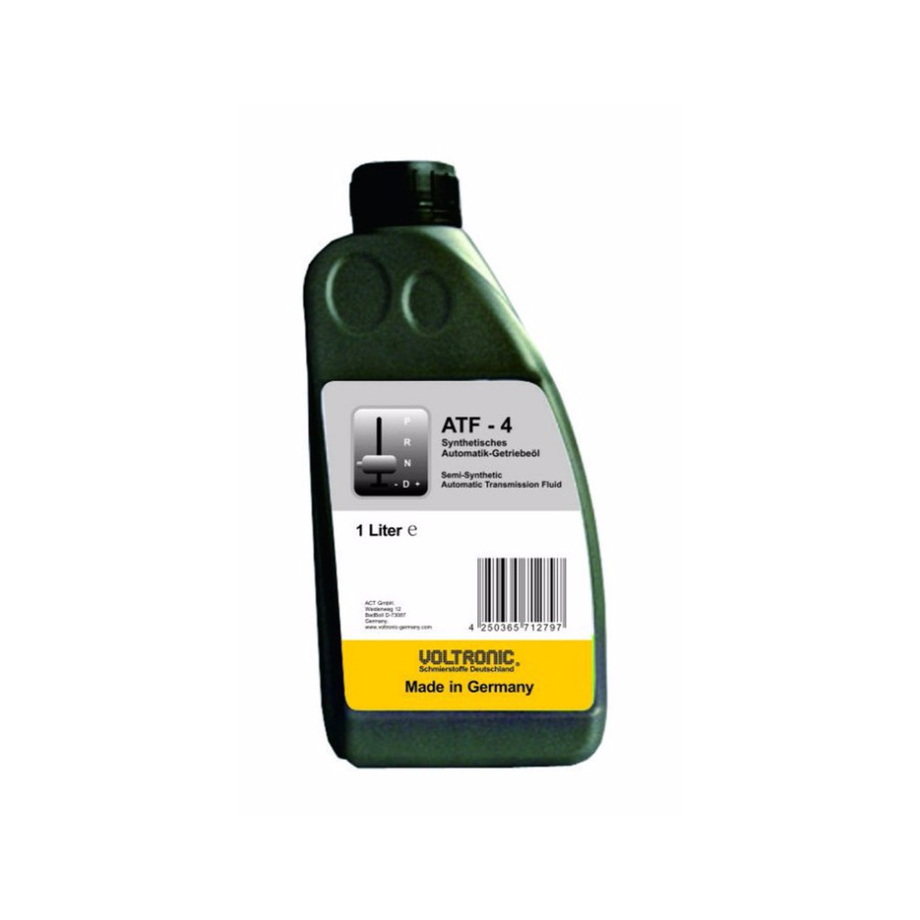 油購站 附發票 德國 VOLTRONIC 摩德 ATF-4 合成 自動油 1L 機油