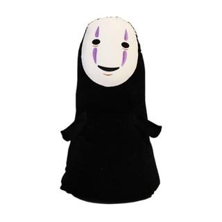 公仔爆爆爆日本動漫千尋無臉男公仔抱枕創意毛絨玩具批發布娃娃男女生日禮物