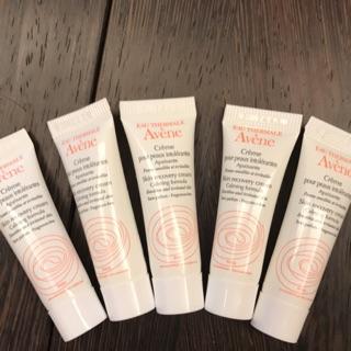 雅漾 修護保濕霜 煥白精華乳 skin recovery cream 敏感肌 淡斑 美白 保濕 試用品