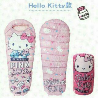 7-11 711集點送《限量夢幻睡袋 Hello Kitty款 Hello kitty雨衣款