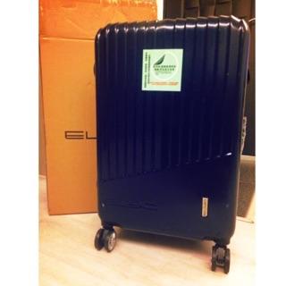 ELIYO時尚黑綻藍24吋行李箱