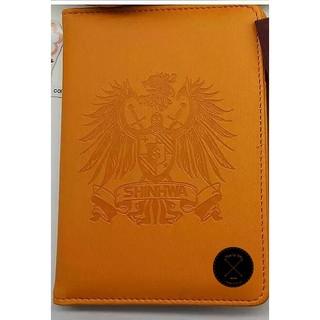 神話SHINHWA 護照夾 護照套 神話LOGO 橘子熊 橘色 旅行 旅遊 護照 卡片夾 周邊 週邊商品